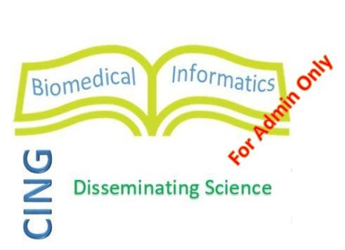 Bioinformatics Whats and Whys - For CING Admin Only